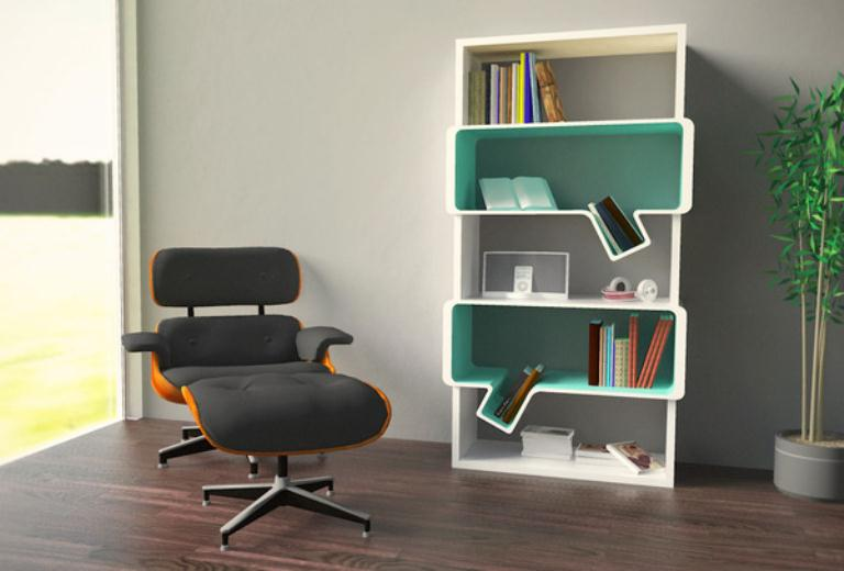 Cool Bookshelf Idea 768 x 520