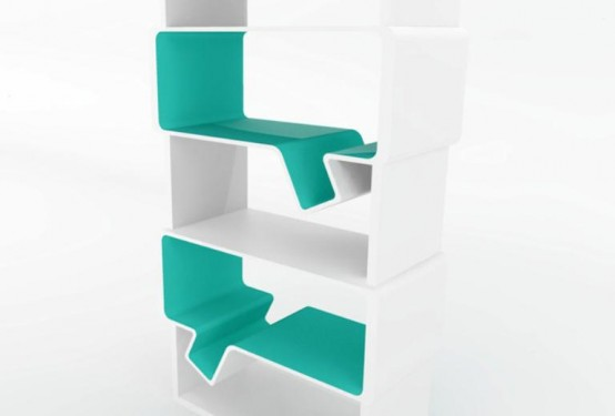 Cool Minimalist Bookshelves To Generate New Ideas
