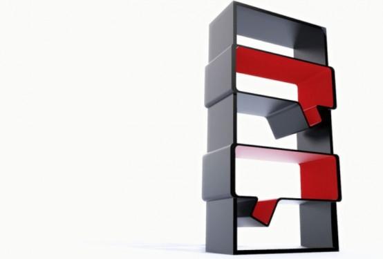 Cool Minimalist Bookshelves To Generate New Ideas