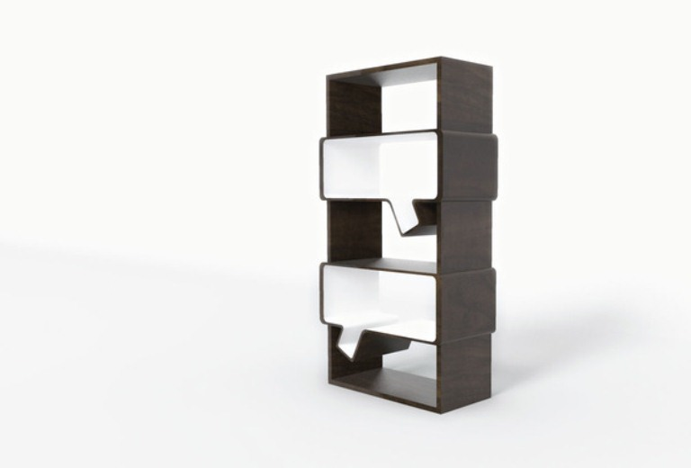 Cool Minimalist Book Shelves To Generate New Ideas | DigsDigs