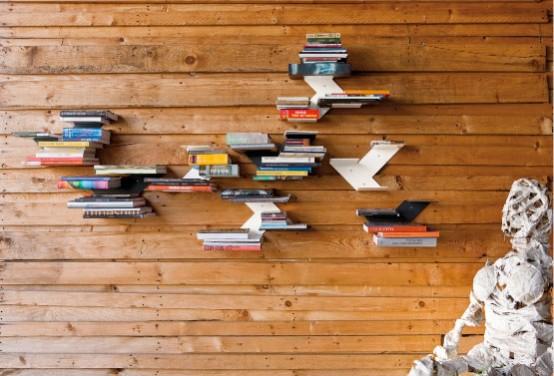 Original Black and White Bookshelves – Fin from B-Line