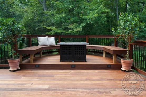 cool outdoor deck design - Ideas For Deck Design