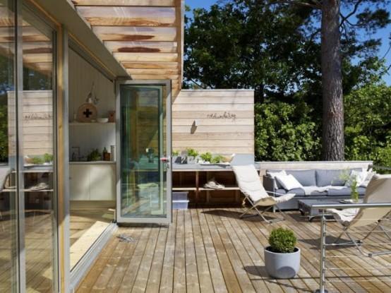 cool outdoor deck design 9 554x415 Thiết kế không gian thư giãn ngoài trời hoàn hảo