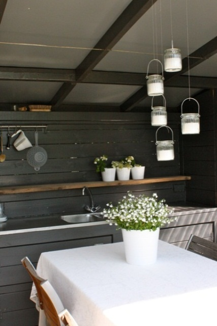 awesome outdoor kitchen designs | 95 Cool Outdoor Kitchen Designs - DigsDigs