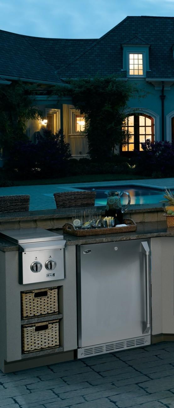 95 Cool Outdoor Kitchen Designs