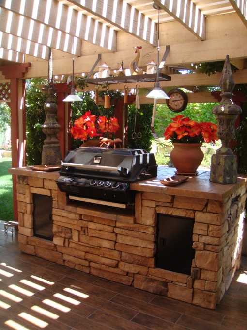 Outdoor Grill Design Ideas outdoor kitchen designs because the words outdoor kitchen design ideas mean that the kitchen Cool Outdoor Kitchen Designs