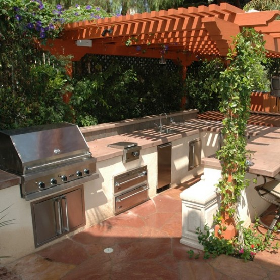 Outdoor Kitchen Designs Ideas Plans For Any Home: 95 Cool Outdoor Kitchen Designs