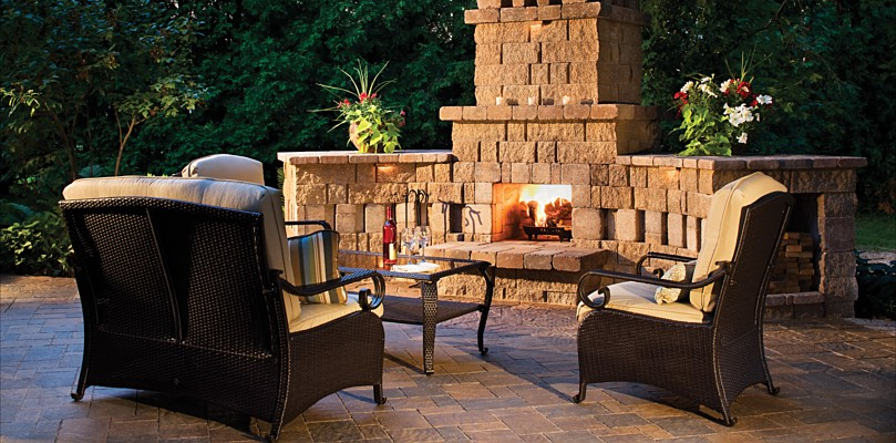 Ideas For Outdoor Living Spaces New Of Outdoor Fireplace Design Ideas Picture