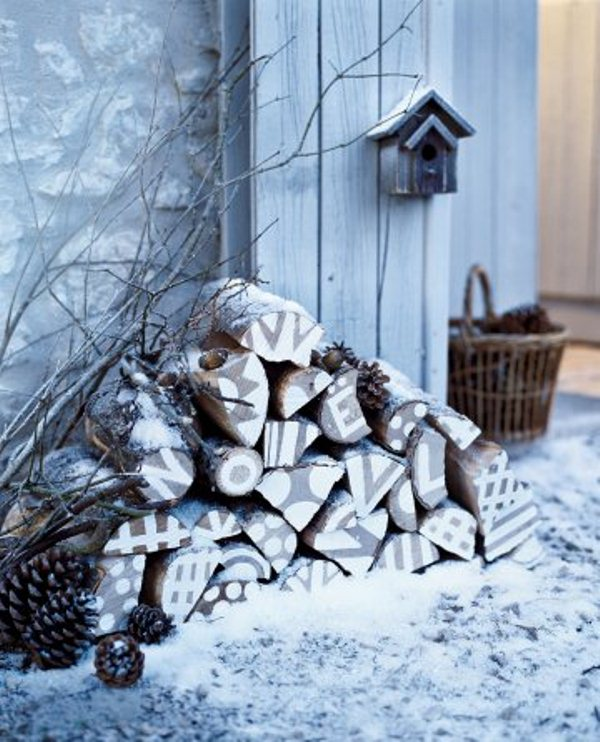 31 Cool Outside Christmas Decorations   DigsDigs