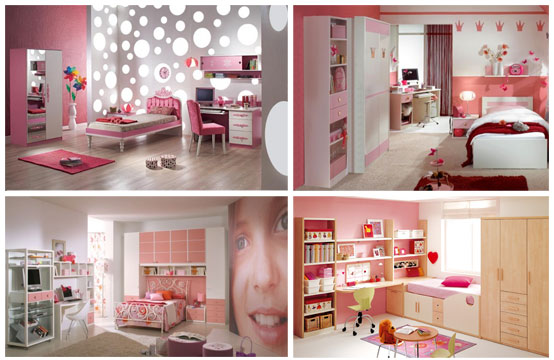 Cool Pink Girl Bedrooms