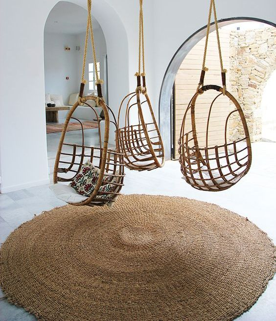 Unusual Furniture Pieces: 34 Cool Rattan Furniture Pieces For Indoors And Outdoors