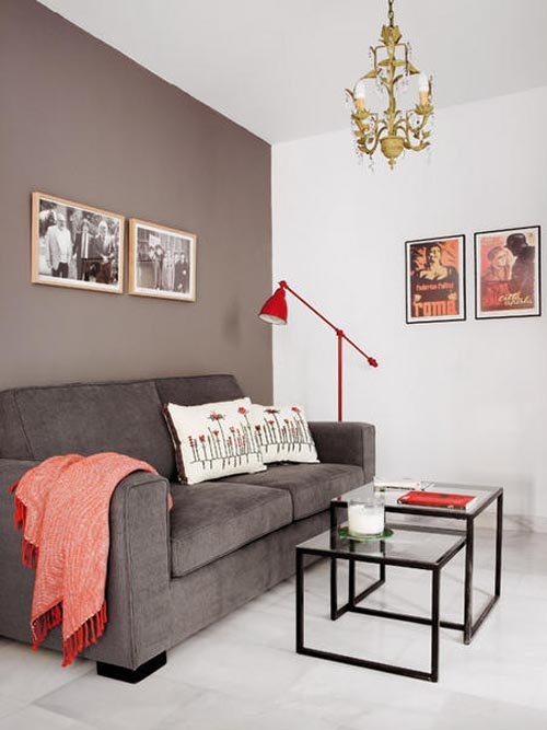 39 cool red and grey home décor ideas - digsdigs