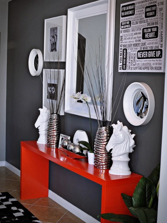 39 cool red and grey home d cor ideas digsdigs for Cool home decor