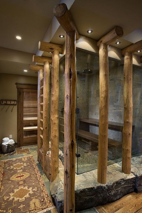 Rustic Bathrooms Designs Prepossessing 39 Cool Rustic Bathroom Designs  Digsdigs Design Ideas
