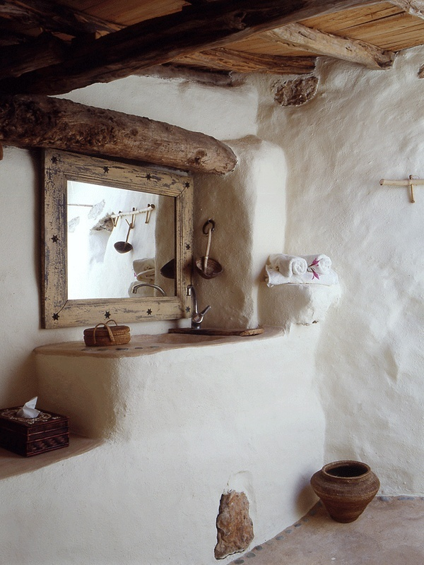 Http Www Digsdigs Com 39 Cool Rustic Bathroom Designs