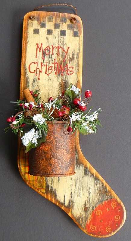 Christmas Decoration Ideas To Make : Cool rustic christmas decorations and wreaths digsdigs