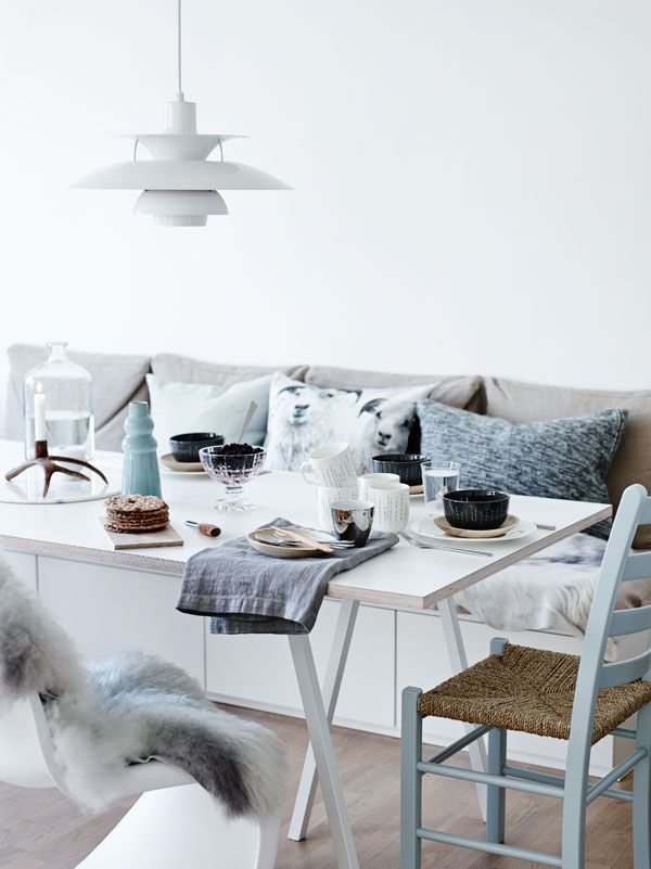 40 cool scandinavian dining room designs digsdigs for Scandinavian design ideas
