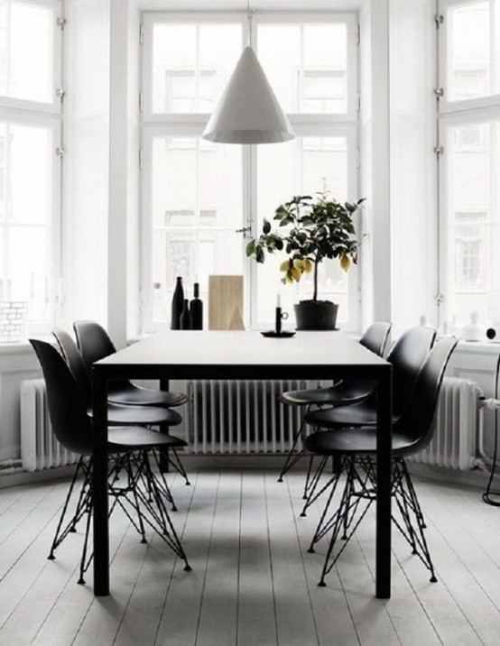40 Cool Scandinavian Dining Room Designs Digsdigs