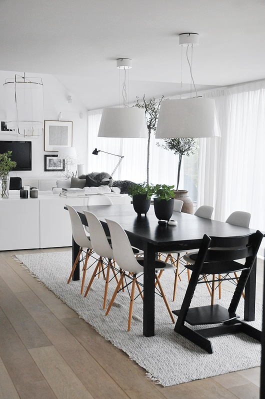 40 cool scandinavian dining room designs digsdigs - Deco eetkamer modern ...