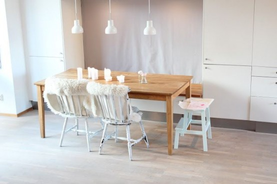 Cool Scandinavian Dining Room Designs