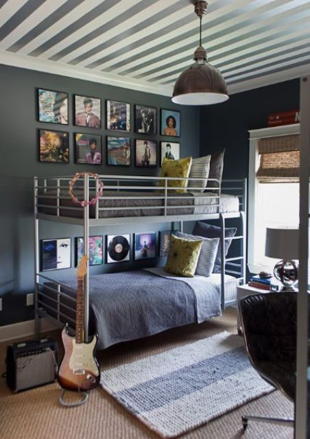 21 cool shared teen boy rooms d cor ideas digsdigs for Funky boys bedroom ideas