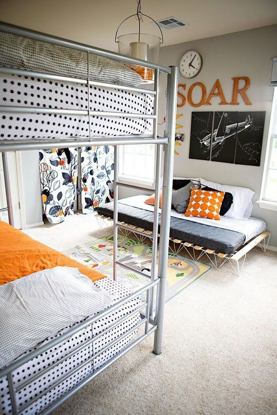 Picture Of cool shared teen boy rooms decor ideas  19