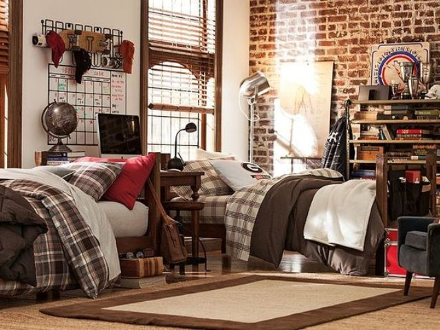 21 Cool Shared Teen Boy Rooms Décor Ideas - DigsDigs