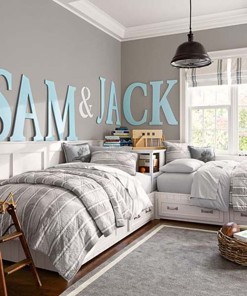 21 Cool Shared Teen Boy Rooms Décor Ideas