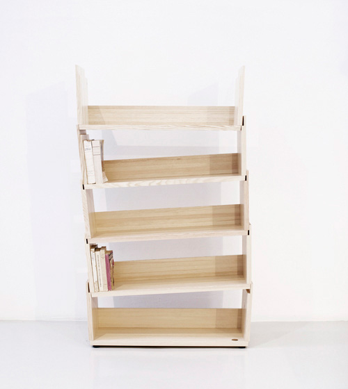 Cool Shelf System That Can Be Stacked In Three Ways