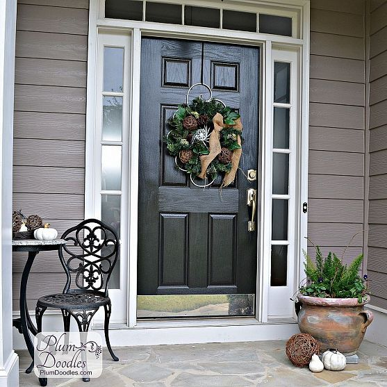 30 cool small front porch design ideas digsdigs for Front door patio ideas