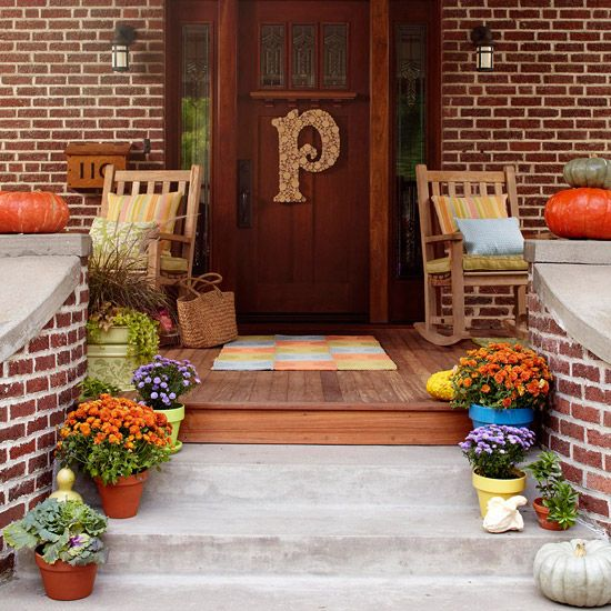 have a garden then grow your flowers on stairs to your front porch