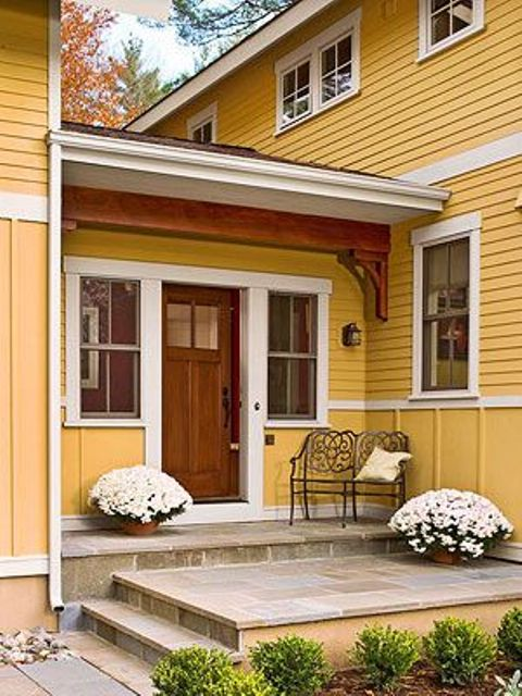 flowers is a perfect addition to a front porch decor