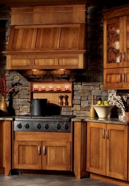 Picture Of cool stone kitchen backsplashes that wow  10