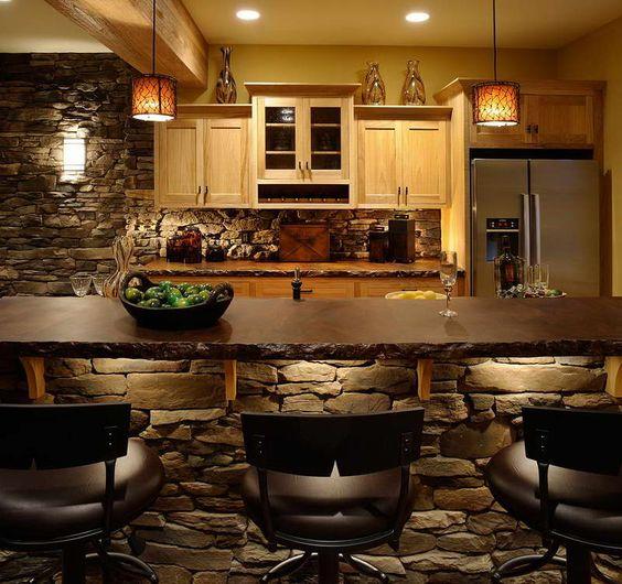 ديكورات مطابخ مفتوحة المعيشة 2016 cool-stone-kitchen-b