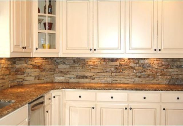 Picture Of cool stone kitchen backsplashes that wow  14