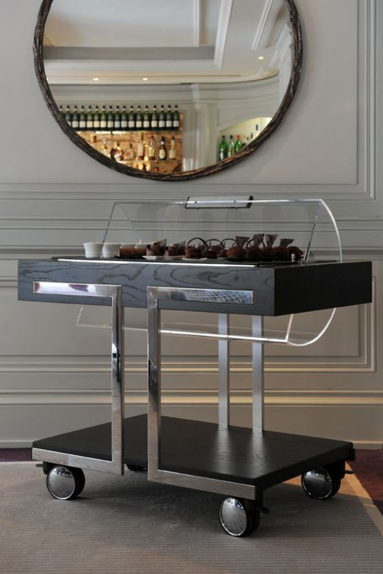 Hospitality Trend 20 Cool Tea Trolleys For Your Home