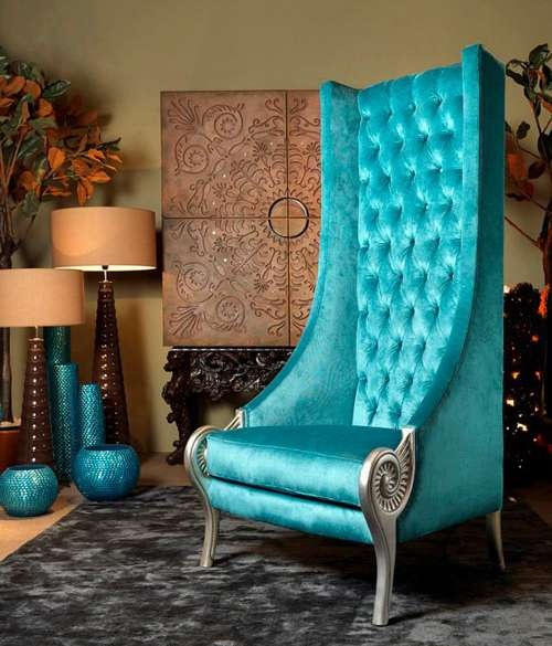 55 Best Home Decor Ideas: 36 Cool Turquoise Home Décor Ideas