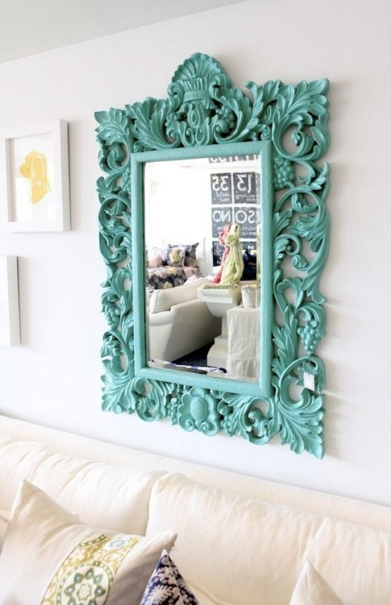 36 cool turquoise home d cor ideas digsdigs - Turquoise decorations for home ...
