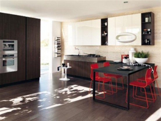 Cool Ultra Modern Kitchen By Scavolini