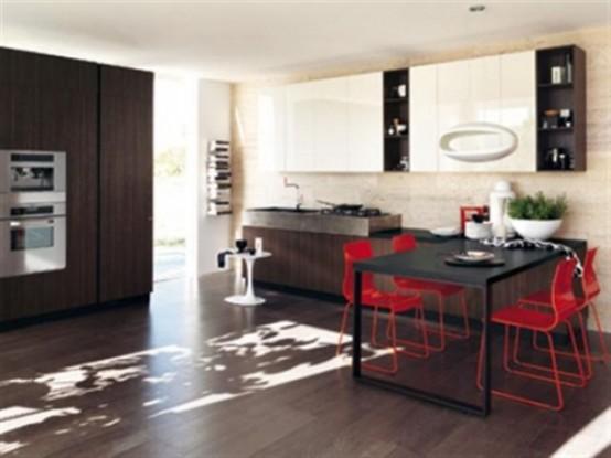 Vintage Cool Ultra Modern Kitchen By Scavolini