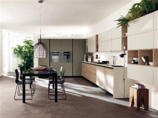 Lovely Cool Ultra Modern Kitchen By Scavolini