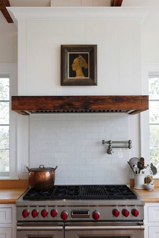Create A Kitchen That S Cool Calm And Functional: 48 Cool Vent Hoods To Accentuate Your Kitchen Design