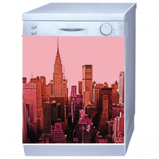 Cool Washer And Fridge Stickers By Funnydoors