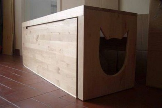 25 Cool Ways To Hide A Cat Litter Box Digsdigs