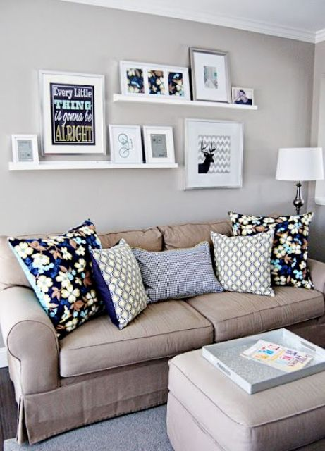 Cool Ways To Use Picture Ledges For Home Decor
