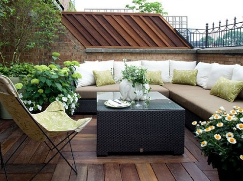 40 coolest modern terrace and outdoor dining space design for Terrace seating ideas