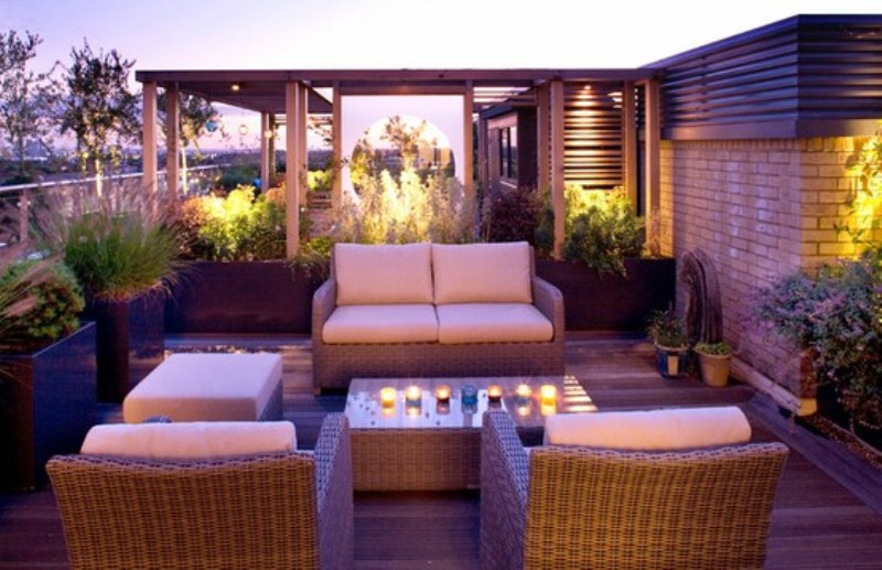 40 coolest modern terrace and outdoor dining space design for Terrace interior design ideas