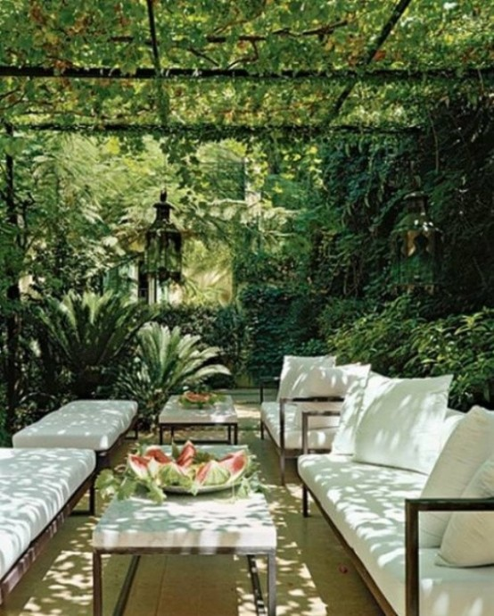Beautiful And Modern Outdoor Furniture Garden Ideas: 40 Coolest Modern Terrace And Outdoor Dining Space Design