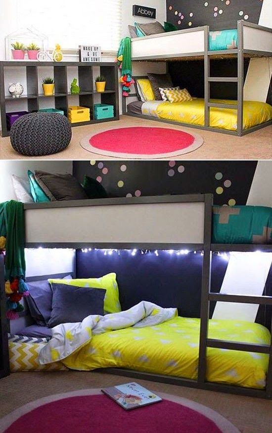 45 cool ikea kura beds ideas for your kids rooms digsdigs - Kids room ideas ikea ...