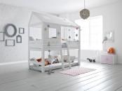 IKEA Kura bed turned into an awesome house
